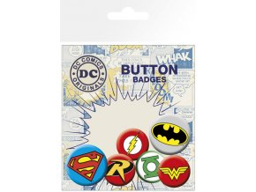 BP0488 DC COMICS logos