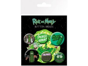 BP0743 RICK AND MORTY pickle rick 1