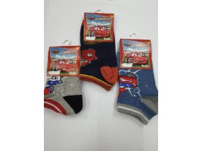 Ponožky Cars/Auta 3 ks