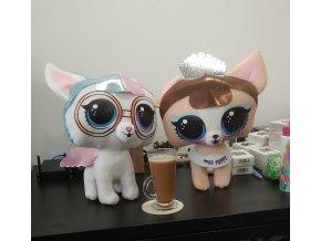 hračky plyšové lol pets káva