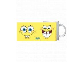 Hrnek Spongebob v kalhotách