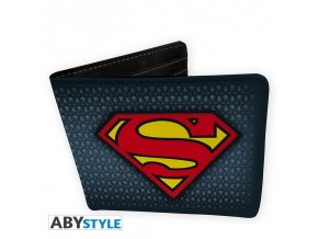dc comics wallet superman suit vinyl