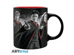 harry potter mug 320 ml harry ron hermione with box x2 (1)
