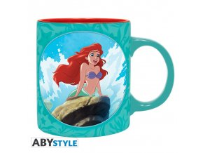disney mug 320 ml little mermaid box x2