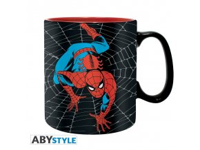 marvel mug 460 ml amazing spider man box x2