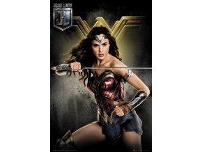 FP4575 JUSTICE LEAGUE wonder woman solo