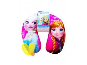 Polštář cestovní Ledové království Anna a Elza Frozen