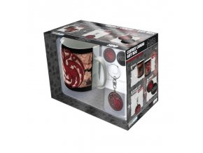 darkovy set hrnek hra o truny game of thrones 460 ml targaryen