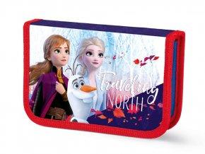 Penál Ledové království Anna a Elza Frozen 1P nevybavený 2 chl.