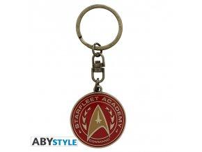 star trek keychain starfleet academy x4