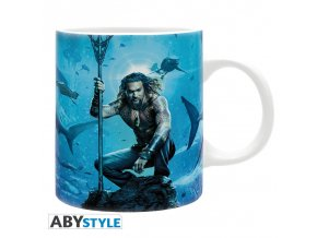 dc comics mug 320 ml aquaman subli with box x2