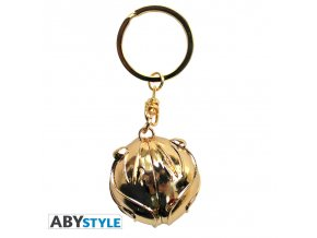 harry potter keychain 3d golden snitch x2