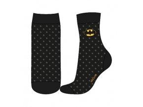 dc ponozky batman cerne s potiskem vel 23 26