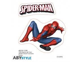 marvel stickers 16x11cm 2 sheets spider man x5 (1)