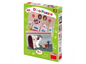 Pohádky s pejsky 2x 48 dílků puzzle