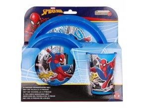jidelni set spiderman