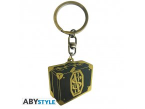 fantastic beasts keychain newt s suitcase x4 (4)