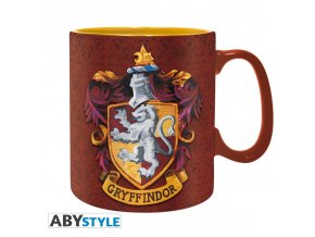 harry potter mug 460 ml gryffindor box x2