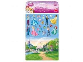 magnetky puzzle princezny 01