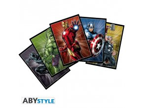 marvel postcards marvel set 1 x5 148x105