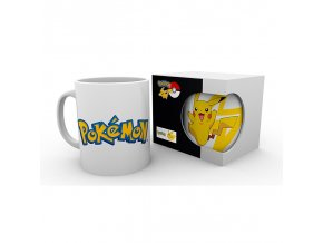 pokemon hrnek 320 ml logo pikachu subli box x2