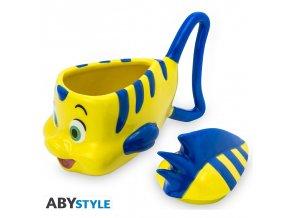 disney hrnek 3d flounder the little mermaid x2