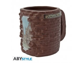 harry potter mug 3d diagon alley x2