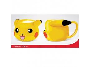 pokemon hrnek 3d pokemon pikachu