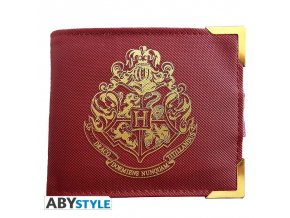 harry potter premium wallet golden hogwarts
