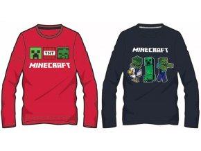 tričko minecraft 1