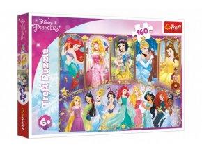puzzle portréty princezen l