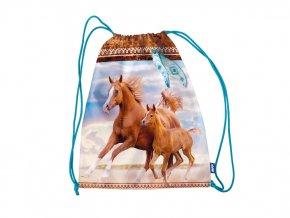 vak na záda koně