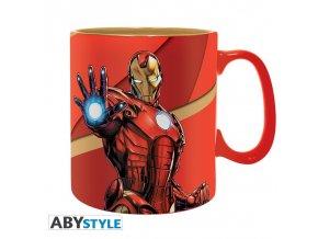 marvel mug 460 ml im armored box x2