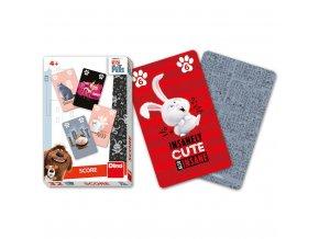 Tajný život mazlíčků karty score