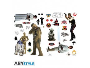 star wars stickers 100x70cm rebels blister
