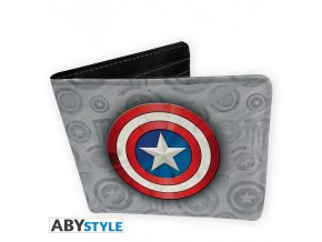 marvel wallet captain america vinyl