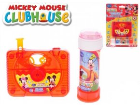 Bublifuk Mickey Mouse a Minnie - kamera