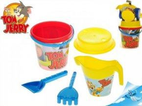 Tom a Jerry sada na písek s konvičkou