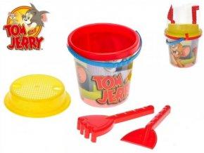 Tom a Jerry sada na písek 4 ks
