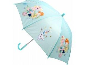 Ledové království deštník modrý