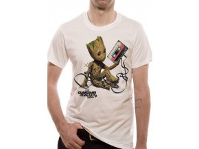 tricko panske straz ci galaxie guardians of galaxy 2 groot bile xl