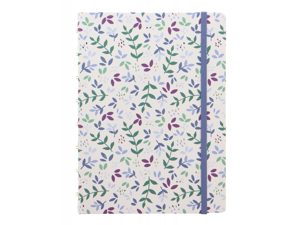 Filofax Garden Collection A5 Notebook in Sunrise SKU 115115 Product Front image
