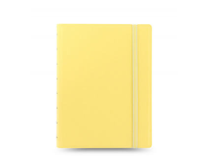 notebook pastels a5 lemon front