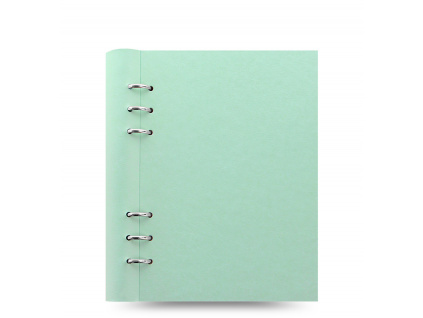 clipbook a5 duck egg front
