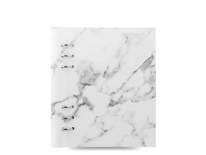 clipbook patterns a5 marble front