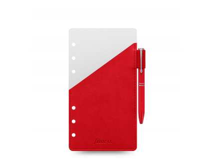 organiser pen loop personal red front 1