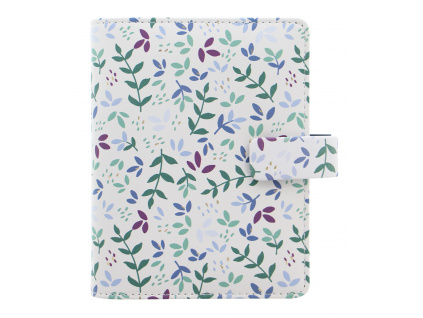 Filofax Garden Collection Pocket Organiser in Sunrise SKU 028712 Product Front image