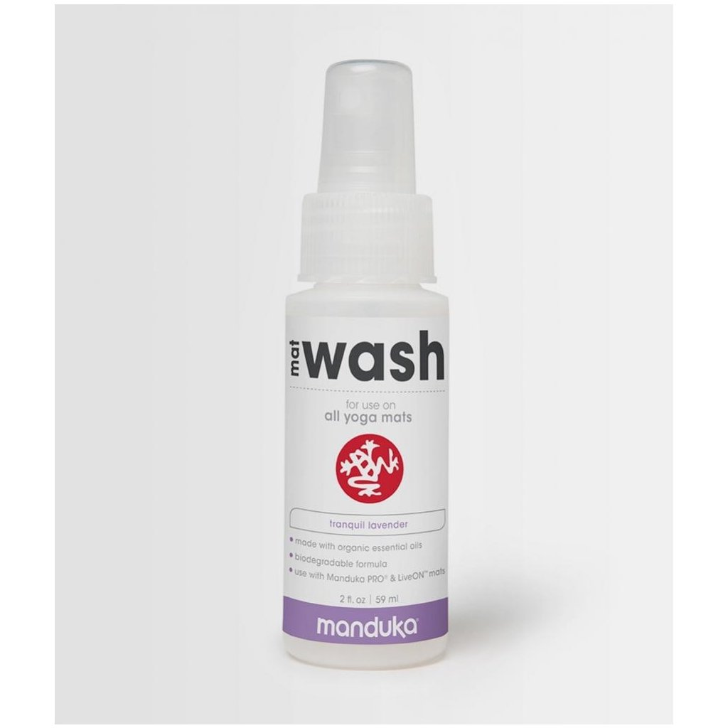 Manduka Mat Wash Spray 59ml (Vona Lemongrass/Sage)