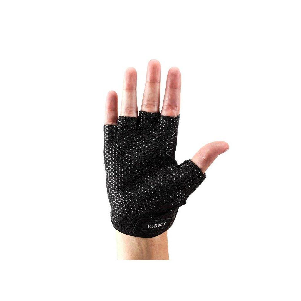 ToeSox Grip Dámske Rukavice Čierna (Veľkosť oblečenia L 8.5 - 9.5 cm)