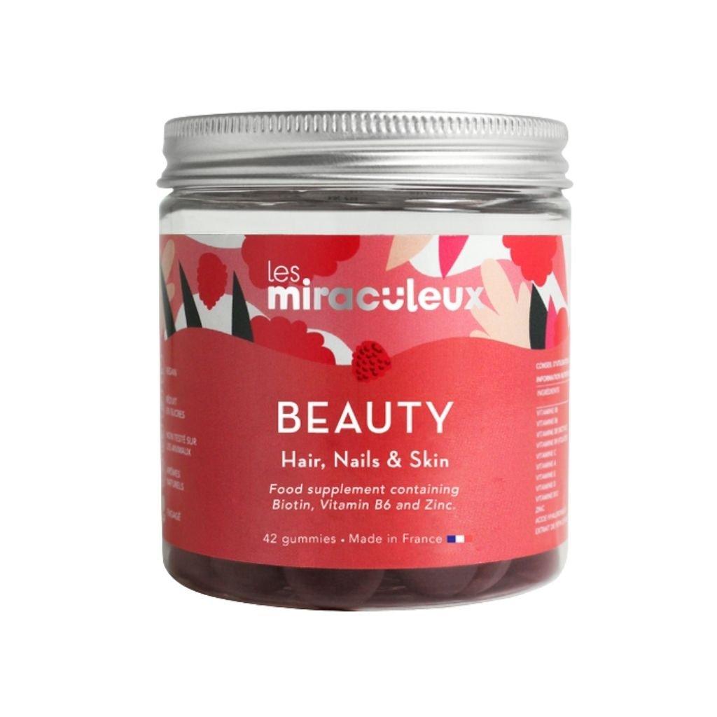 Les Miraculeux Beauty Gummies žuvacie pastilky vlasy, nechty, pokožka (1)